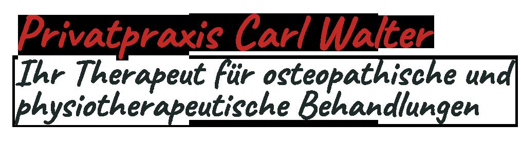 Therapie Carl Walter Erlangen